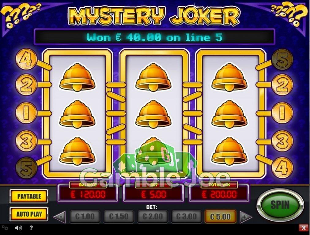 mystery joker spielen
