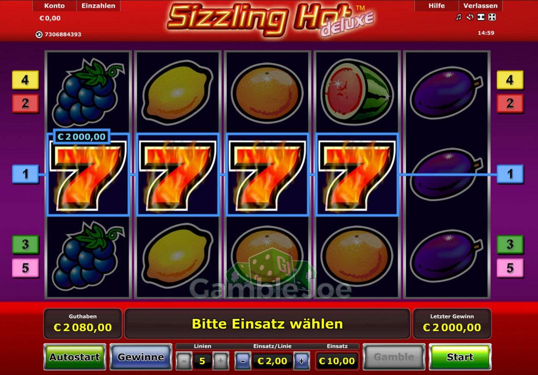 Sizzling Hot 4 7er
