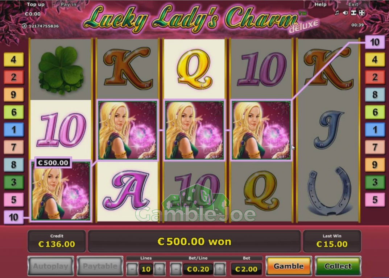 Lucky Lady's Charm Deluxe Gewinnbild von Daniel