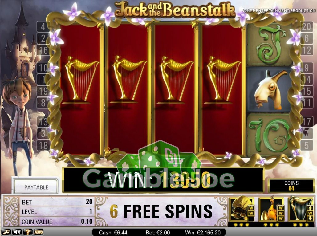 Jack and the Beanstalk Gewinnbild von Daniel