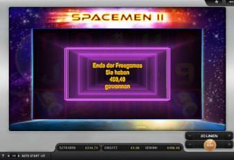 30 Freispiele Spacemen