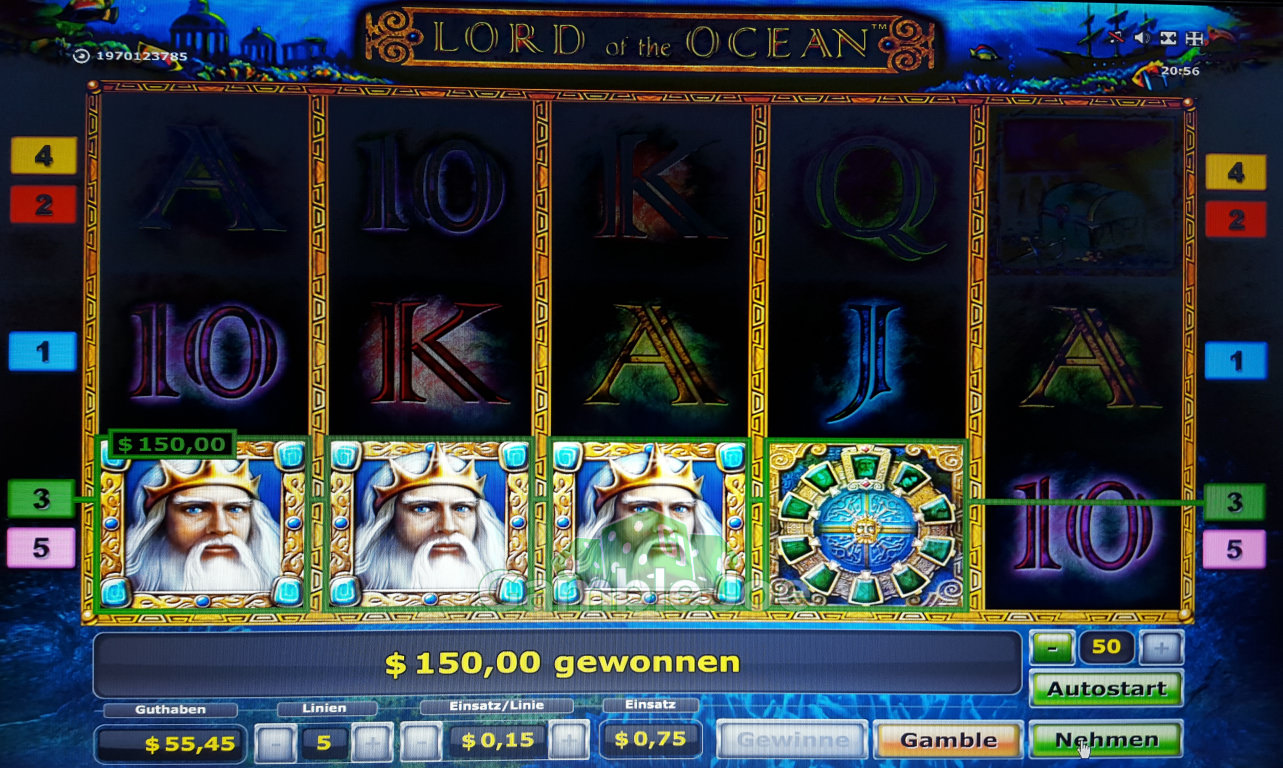 Play Lord of the Ocean for free Online | OVO Casino