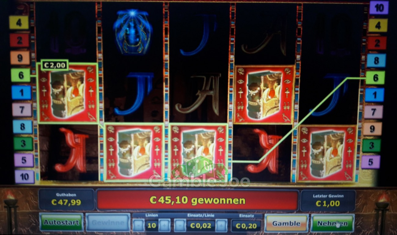 karamba online casino 5 bücher book of ra