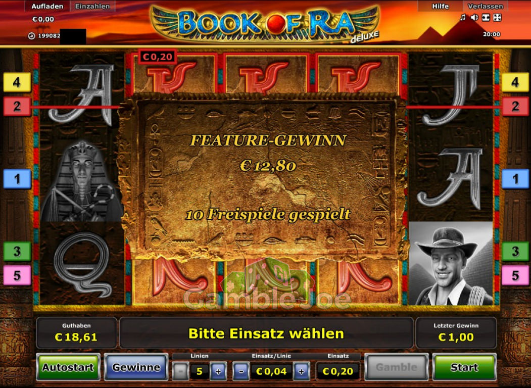 Book Of Ra Deluxe Freispiele