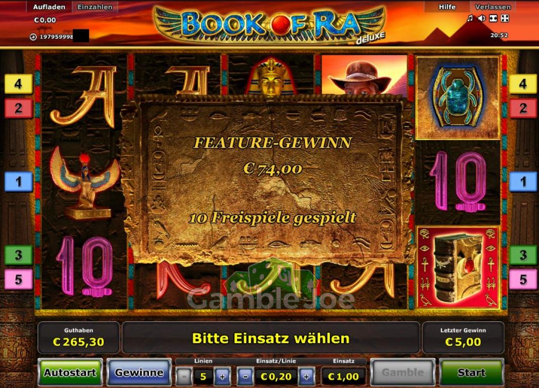 Book Of Ra Deluxe Hochstgewinn