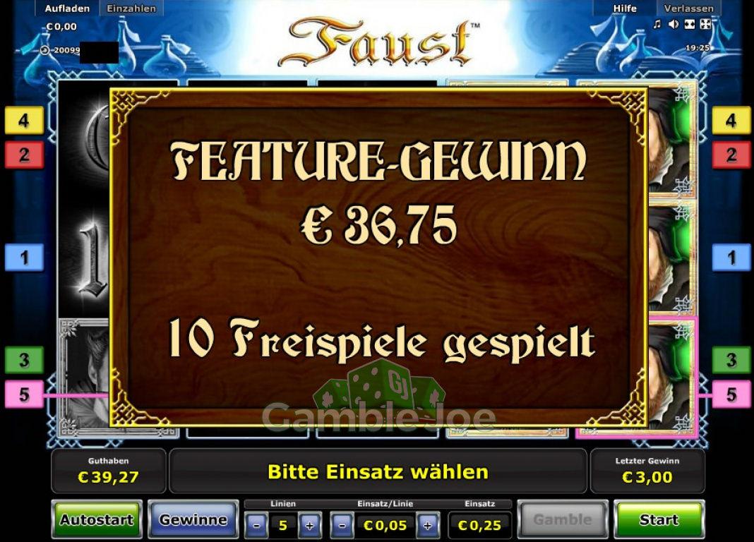 Faust Gewinnbild von Andrew789