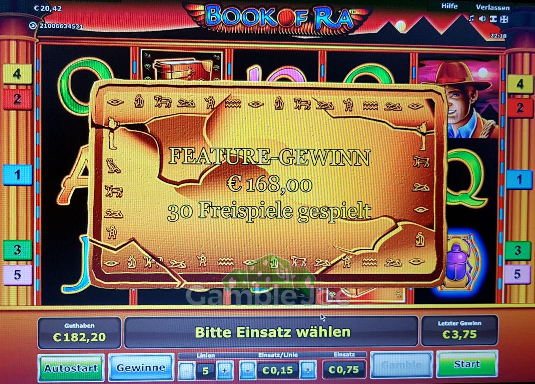 Book of Ra Gewinnbild von J****r