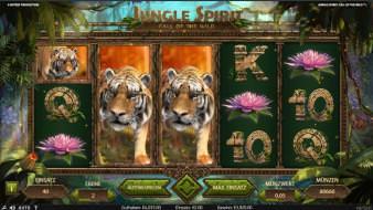 Tiger in den Freispielen