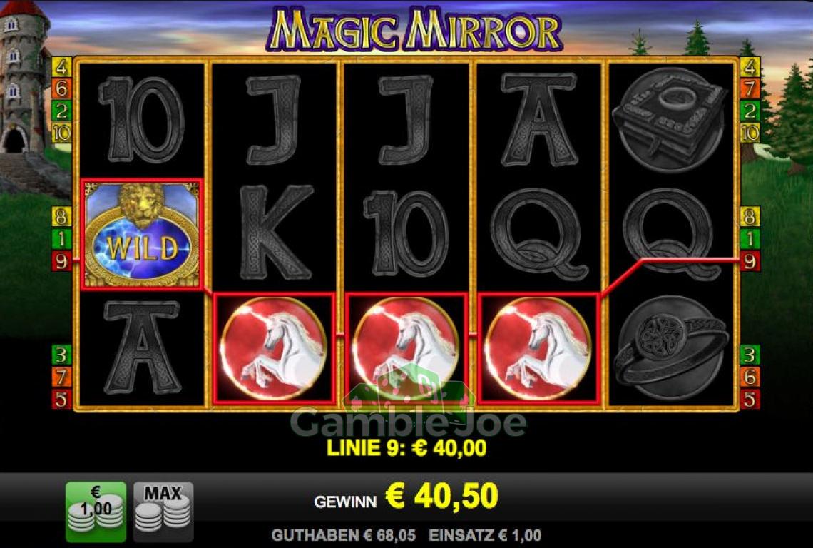 Magic Mirror Gewinnbild von Andrew789