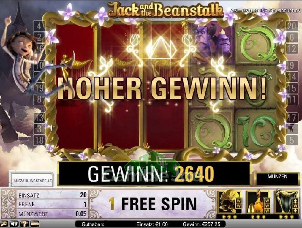 Jack and the Beanstalk Gewinnbild von A****m