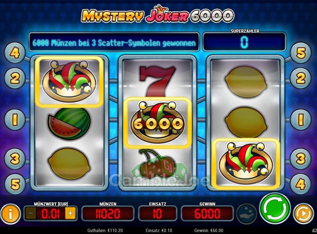 Mystery Joker 6000 Gewinnbild von PeterPauling