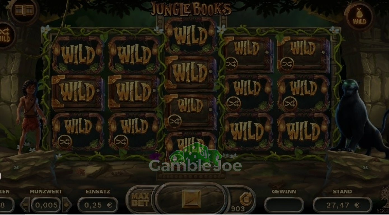 Jungle Books Gewinnbild von Iseedeadpeople