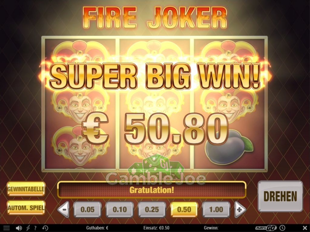 Fire Joker Gewinnbild von A****m