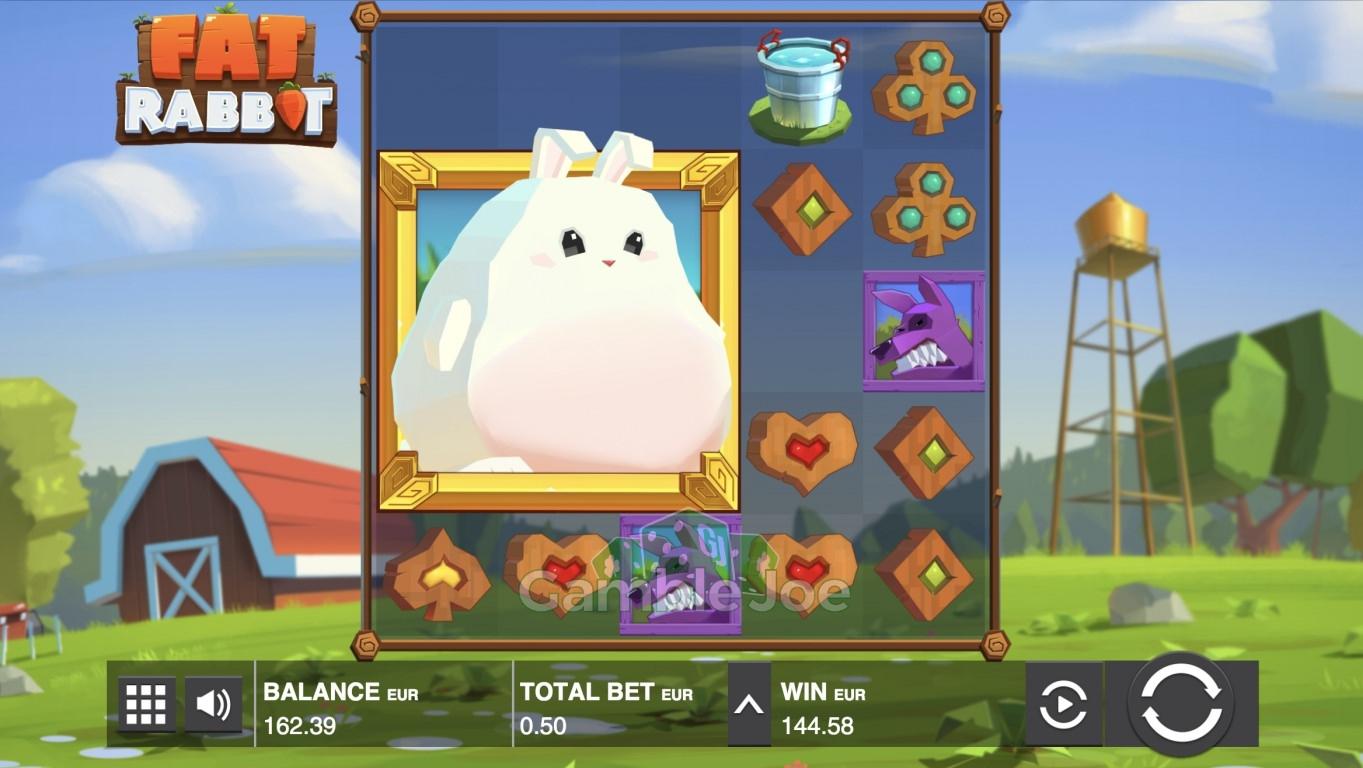 Fat Rabbit Gewinnbild von Henry