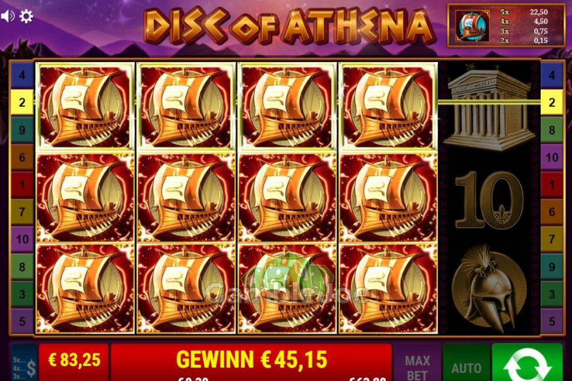 Disc of Athena Gewinnbild von Julian