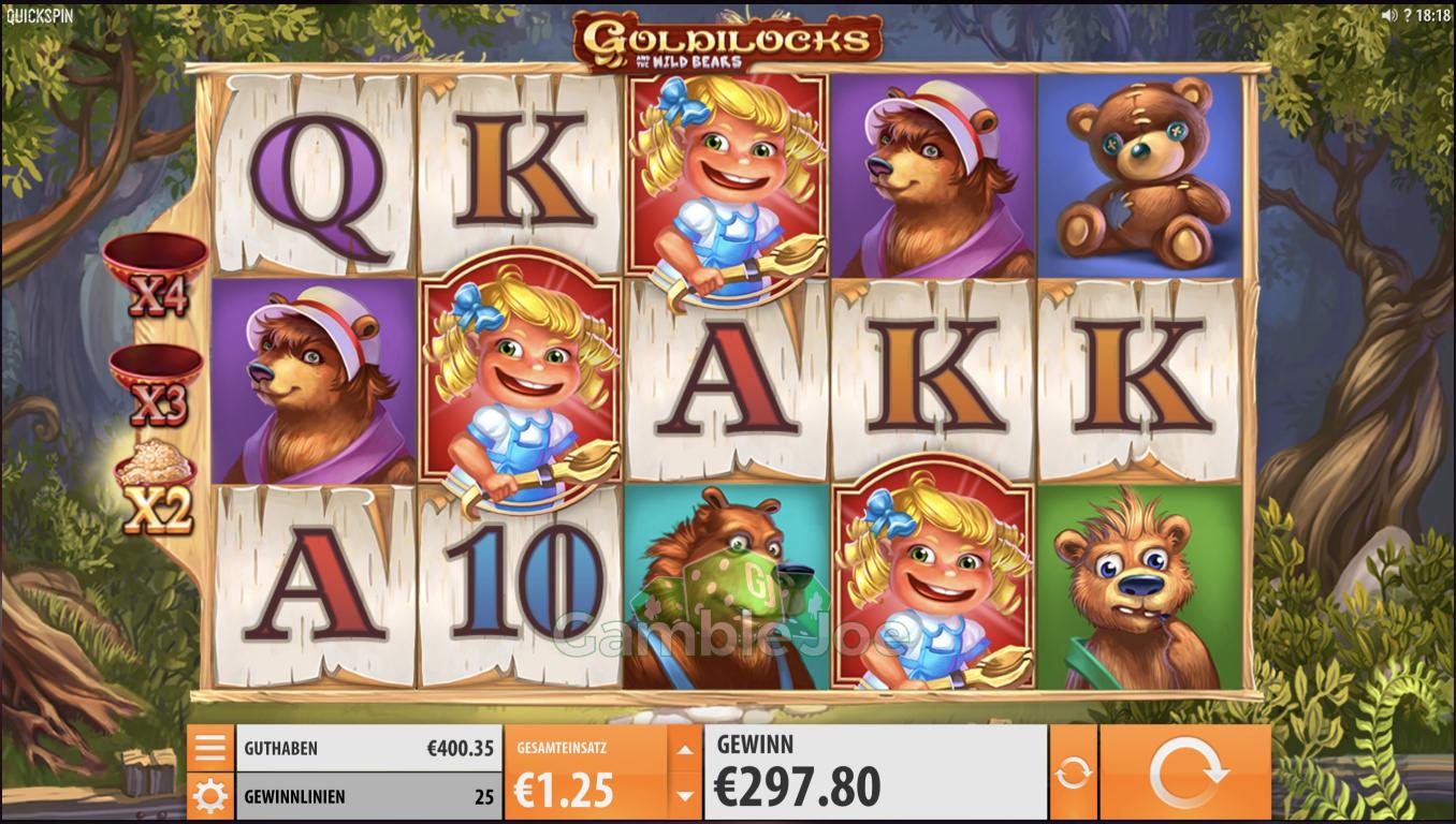 Goldilocks Gewinnbild von Henry