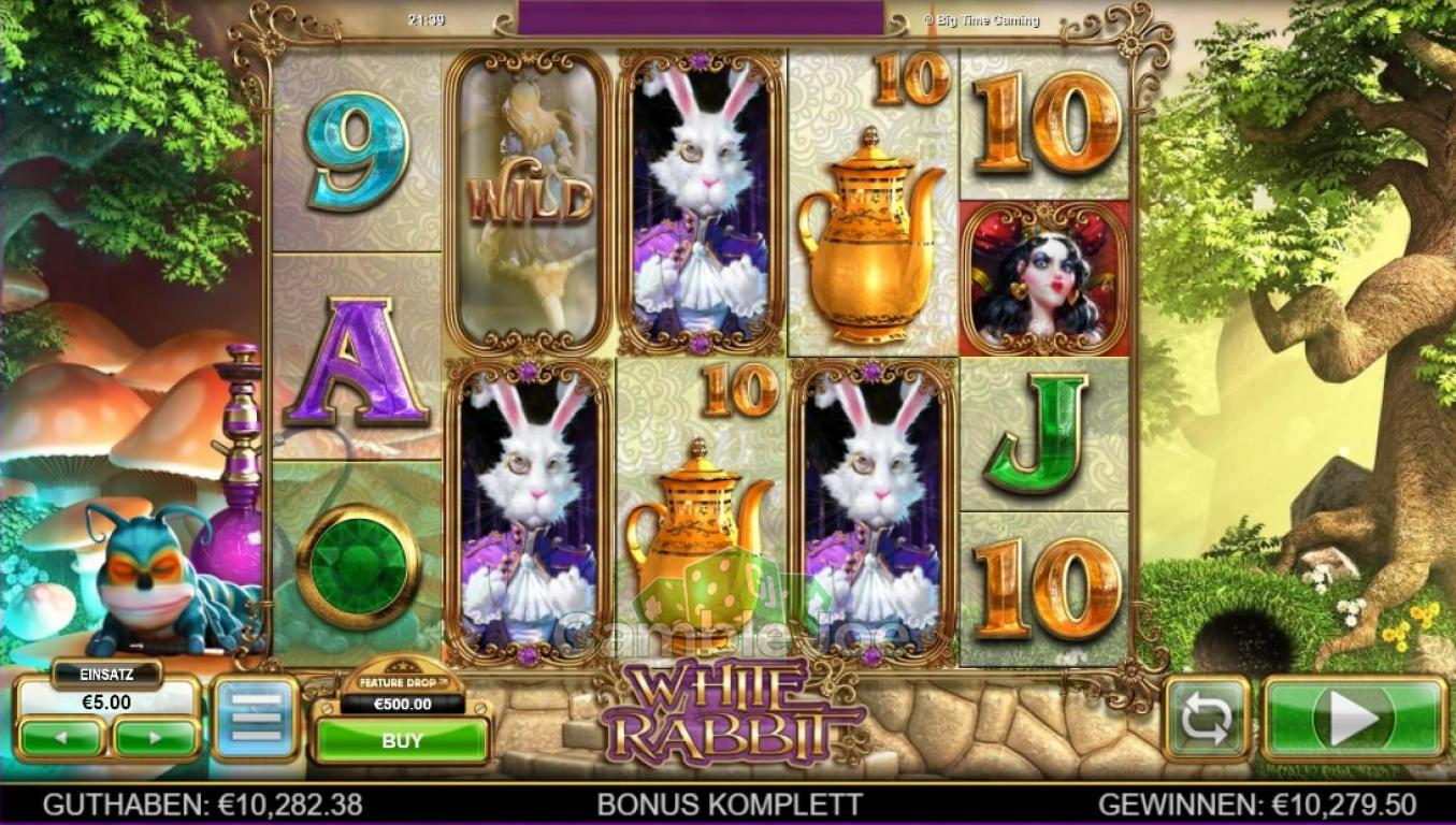 White Rabbit Gewinnbild von Allanon