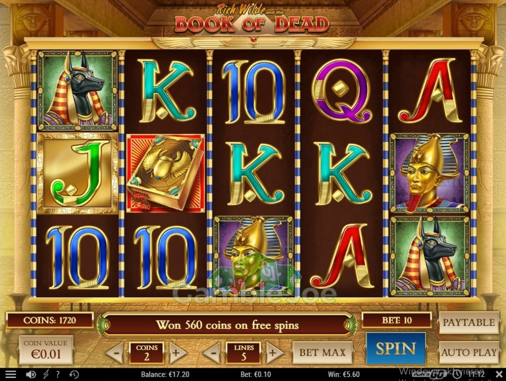 Online Casino Freispiele Book Of Dead