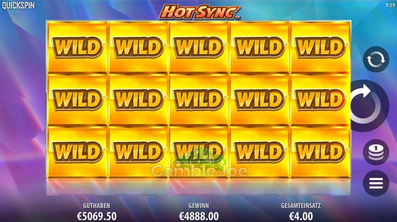 Hot Sync Gewinnbild von A****3