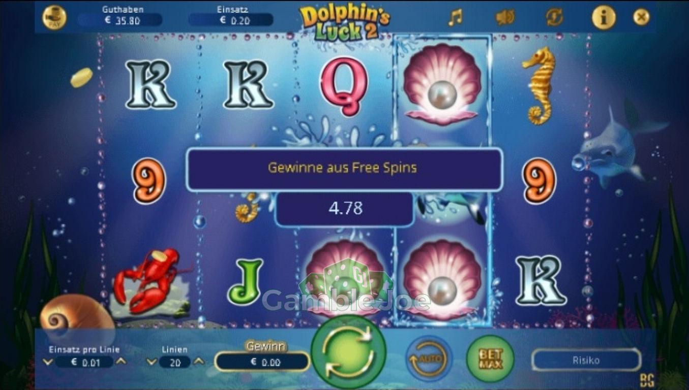 Dolphin Cash Gewinnbild von Ulla107