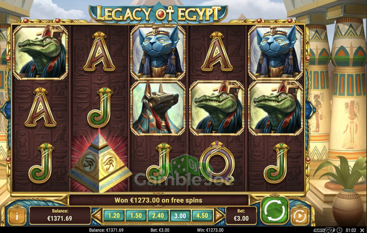 Legacy of Egypt Gewinnbild von Henry