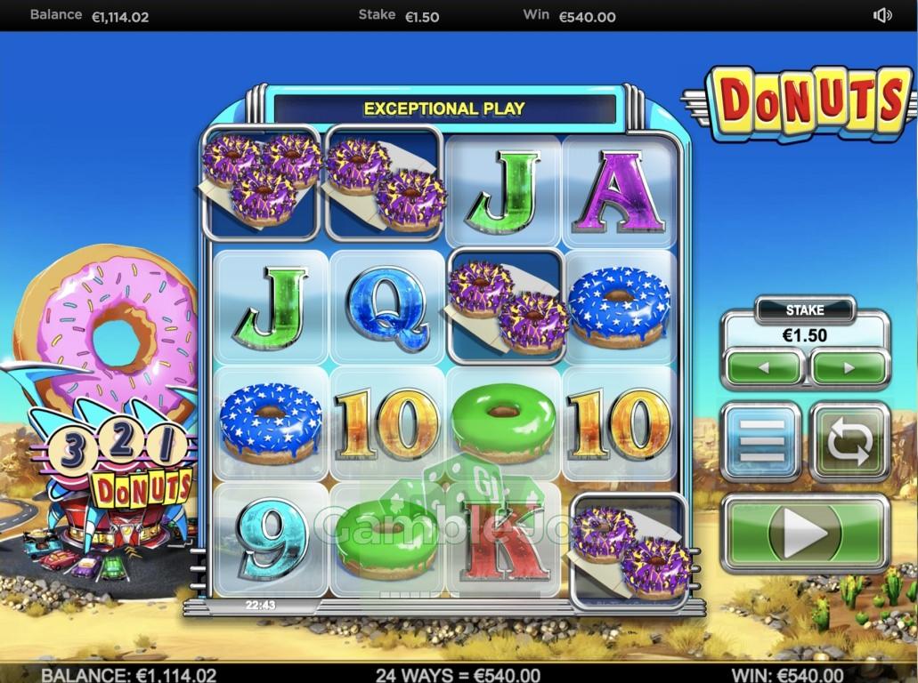 Donuts Gewinnbild von Henry