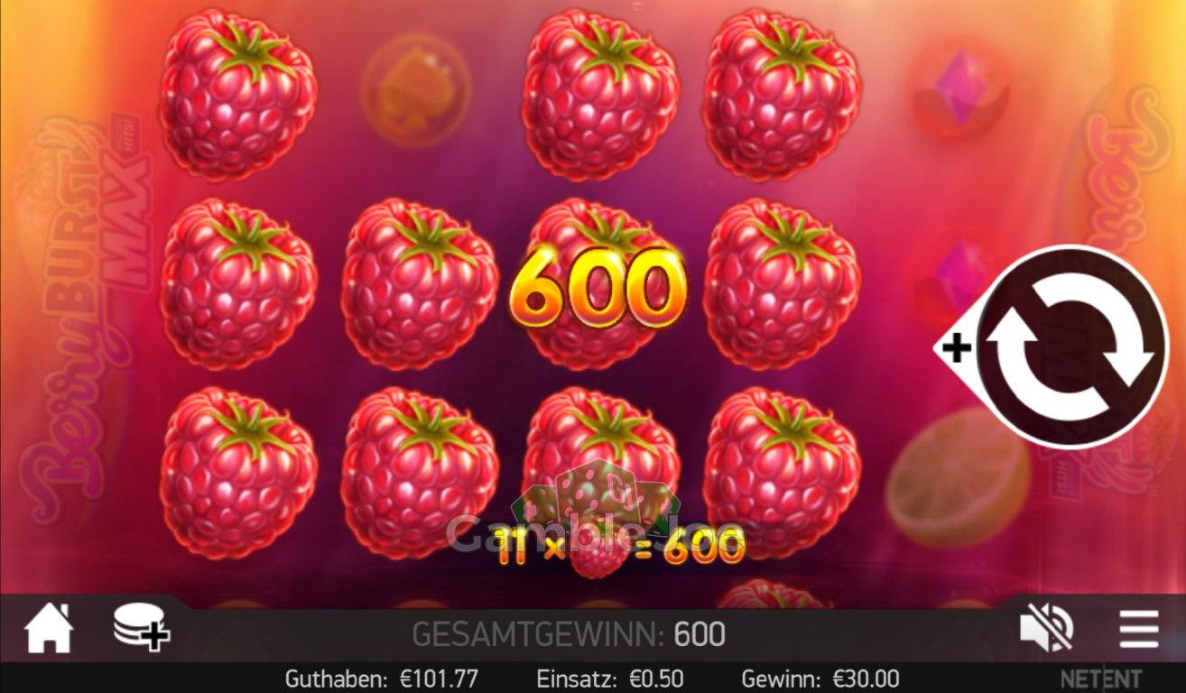 Berryburst Max Gewinnbild von Zwischenmeister