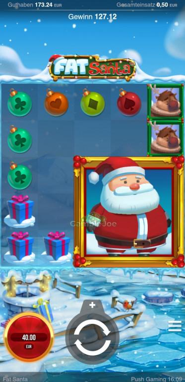 Fat Santa Gewinnbild von A****m