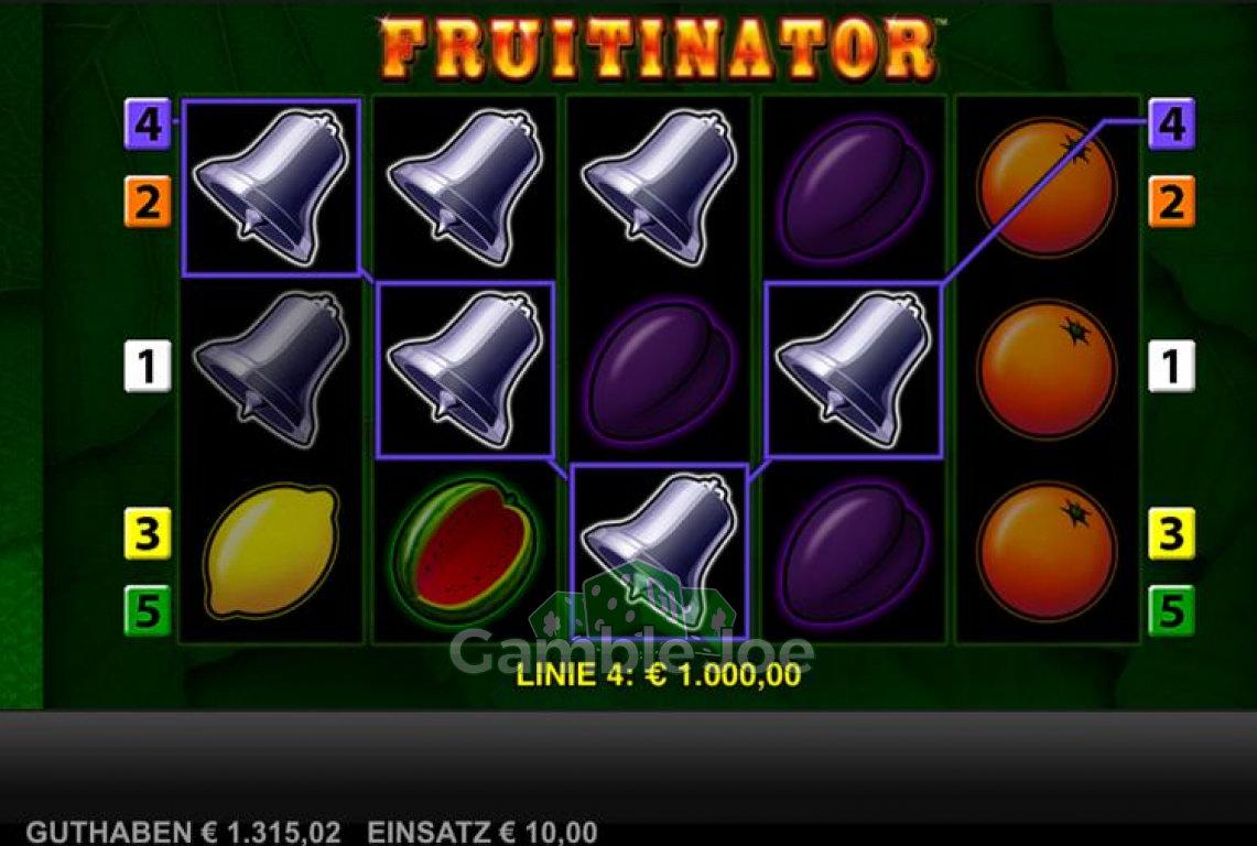 Fruitinator Gewinnbild von kallubinz