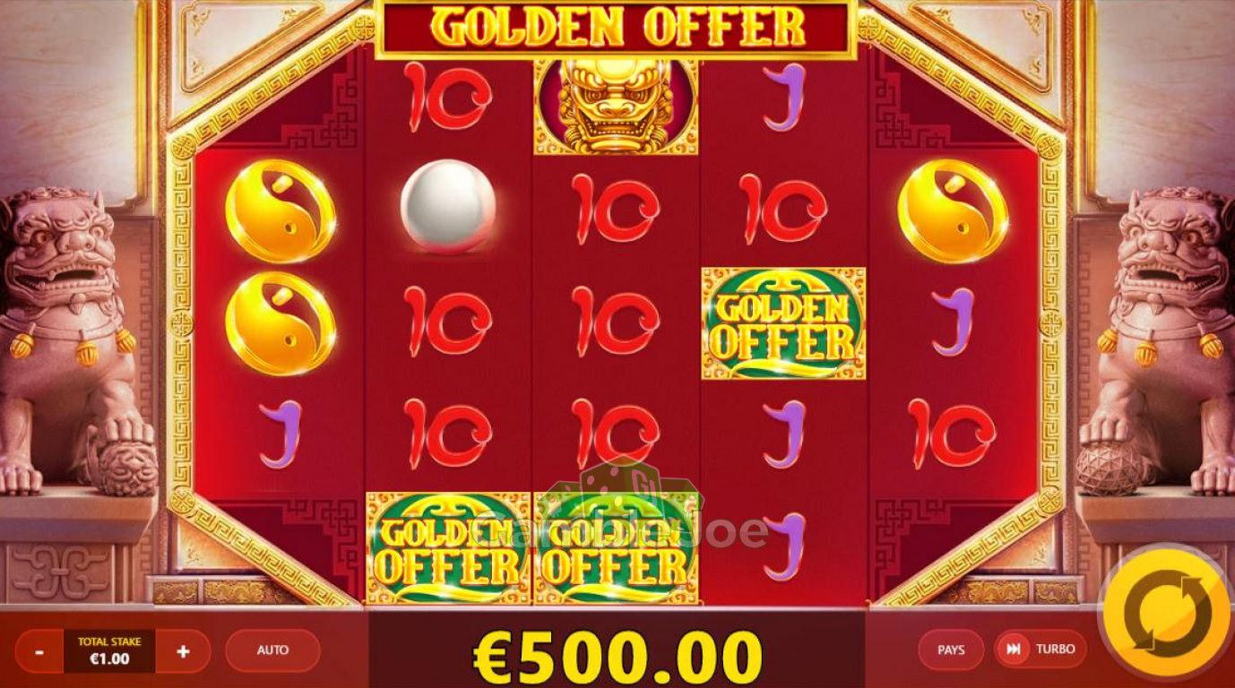 Golden Offer Gewinnbild von Slot_Star