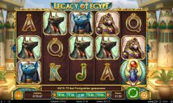 Legacy of Egypt Gewinnbild