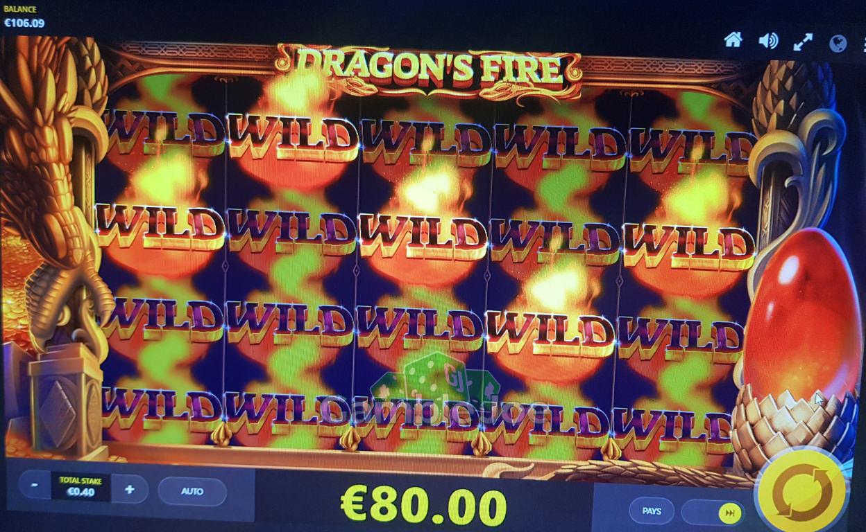 Dragon's Fire Gewinnbild von Reskim