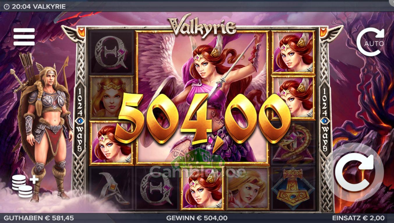 Valkyrie Gewinnbild von Fortuna-III