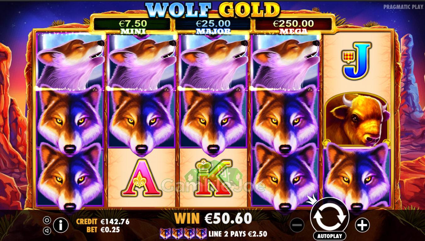 Wolf Gold Gewinnbild von Spectral