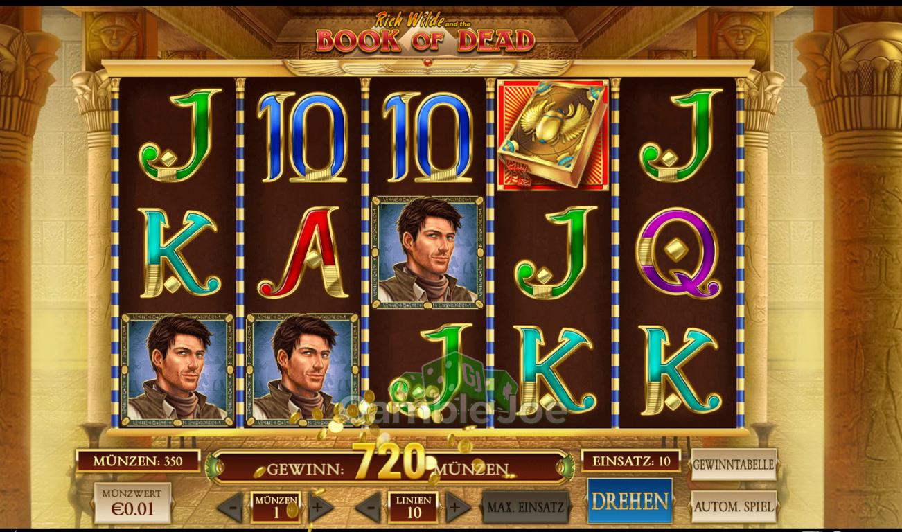 5 10 euro book of dead casino bonus