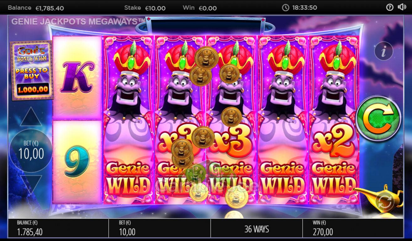 Genie Jackpots Gewinnbild von thebutcher85