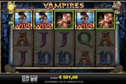 Vampires Gewinnbild