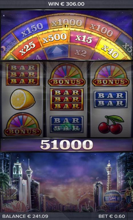 Vegas Diamonds Gewinnbild von Mitchmachine91