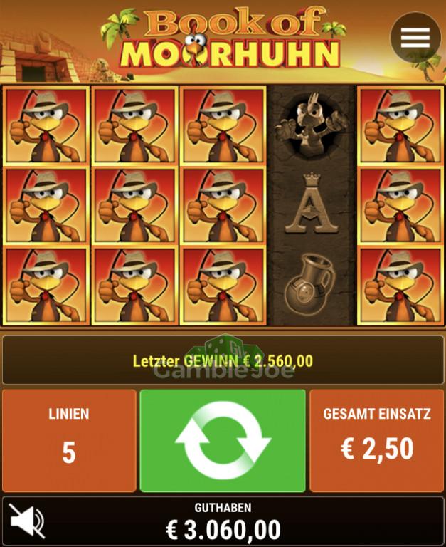 Book of Moorhuhn Gewinnbild von ScottyP
