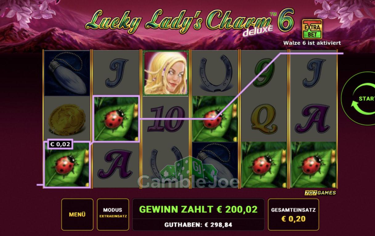 Lucky Lady's Charm Deluxe 6 Gewinnbild von zehenkuesser