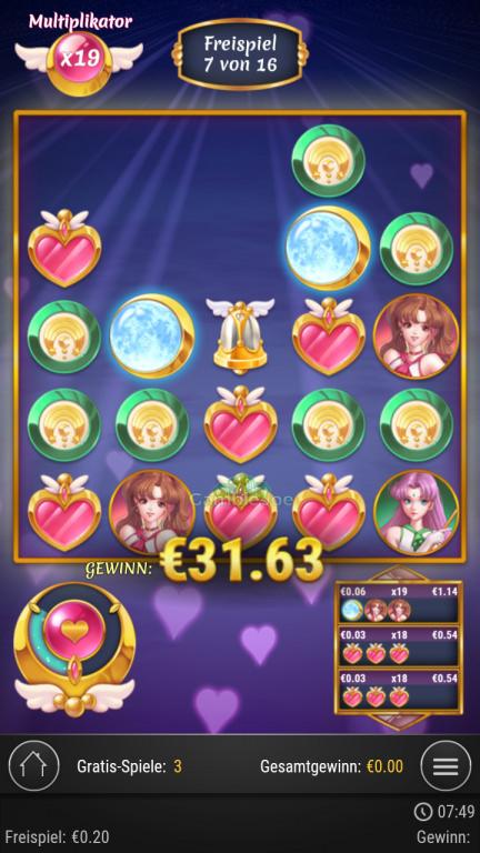Moon Princess Gewinnbild von Timbing86