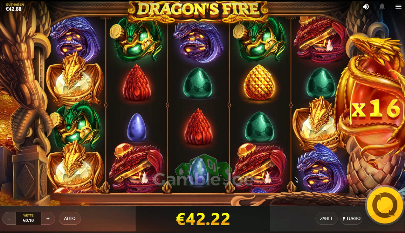 Dragon's Fire Gewinnbild von nils1887