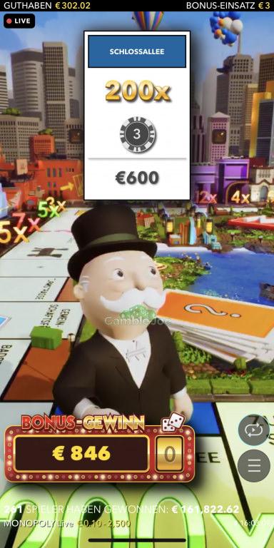 Monopoly Live Gewinnbild von Theone87
