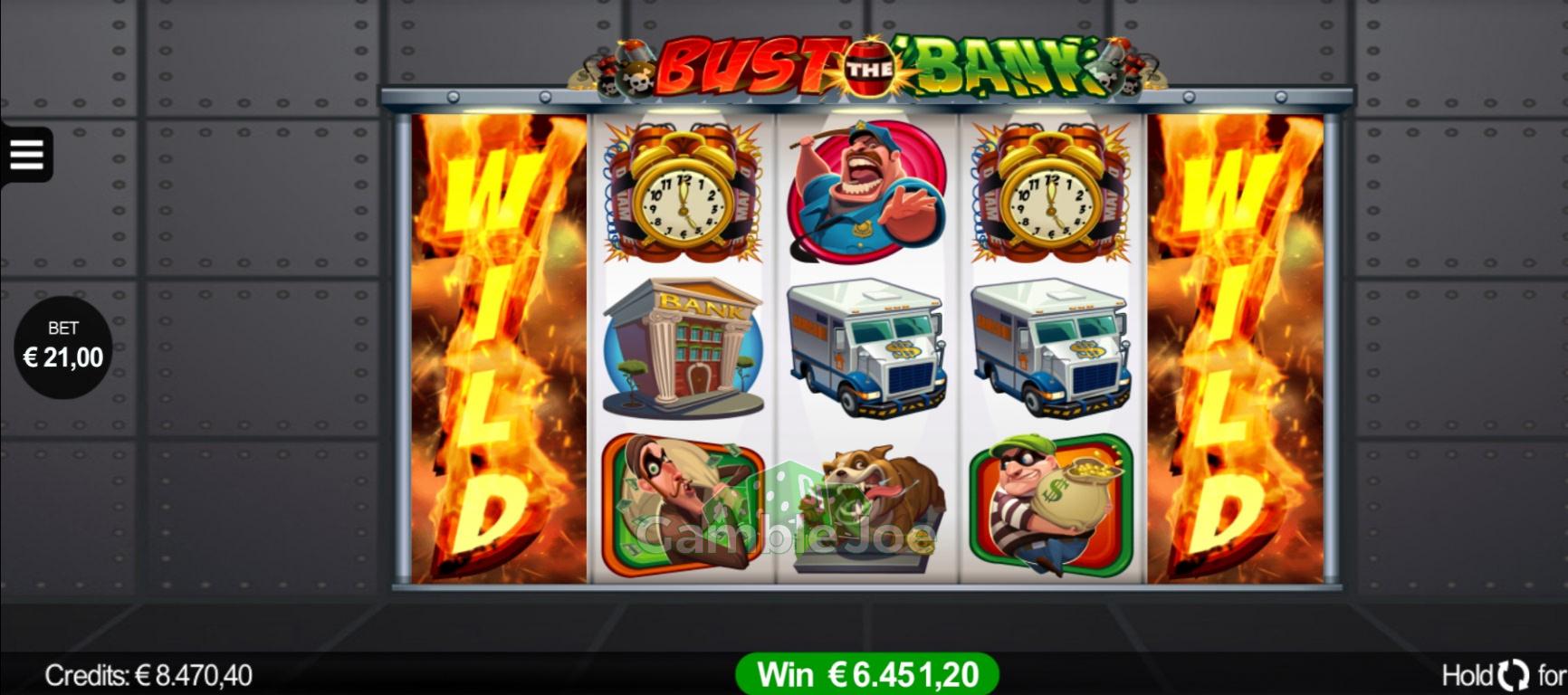 Bust the Bank Gewinnbild von dl6786