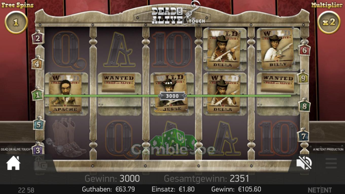 Dead or Alive Gewinnbild von gamble1