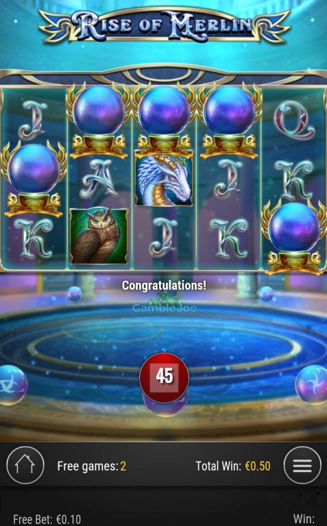 Rise of Merlin Gewinnbild von Insa24