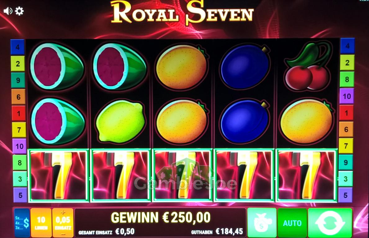 Royal Seven Gewinnbild von A****m