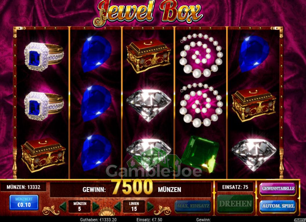 Jewel Box Gewinnbild von Chris26