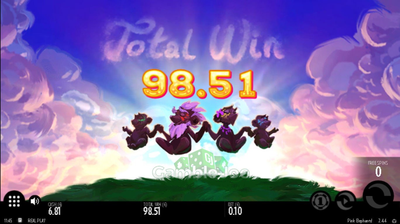 Pink Elephants Gewinnbild von m****9