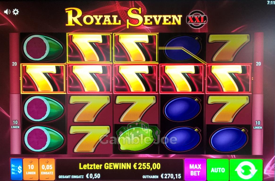 Royal Seven XXL Gewinnbild von A****m